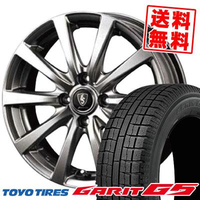 185/70R14 TOYO TIRES トーヨータイヤ GARIT G5 ガリット G5 Euro Speed G10 ユーロスピード G10 スタッドレスタイヤホイール4本セット