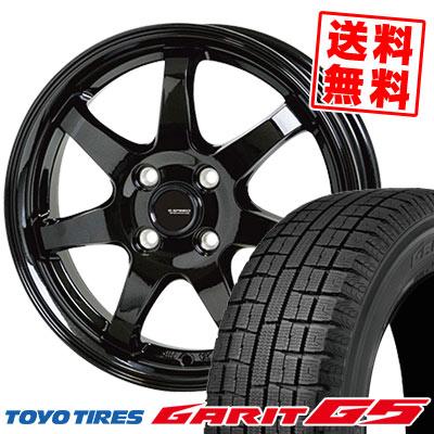 155/65R13 73Q TOYO TIRES トーヨータイヤ GARIT G5 ガリット G5 G.speed G-03 Gスピード G-03 スタッドレスタイヤホイール4本セット