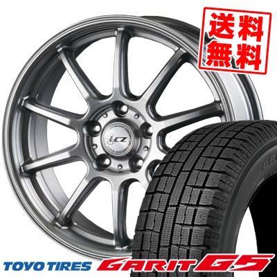 205/60R16 TOYO TIRES トーヨータイヤ GARIT G5 ガリット G5 LCZ010 LCZ010 スタッドレスタイヤホイール4本セット
