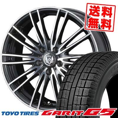 205/60R16 TOYO TIRES トーヨータイヤ GARIT G5 ガリット G5 weds RIZLEY MA ウェッズ ライツレー エムエー スタッドレスタイヤホイール4本セット