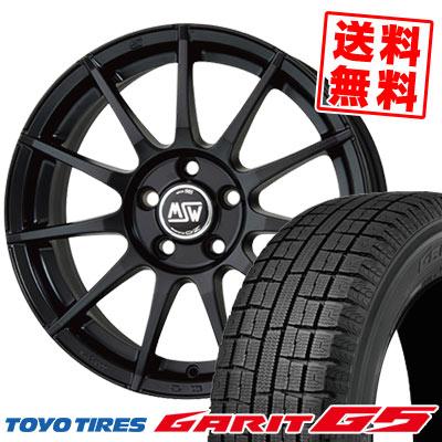 195/65R15 91Q TOYO TIRES トーヨータイヤ GARIT G5 ガリット G5 MSW85 MSW85 スタッドレスタイヤホイール4本セット 【For VW】【取付対象】
