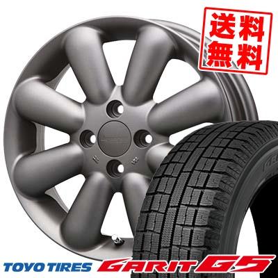 155/65R14 TOYO TIRES トーヨータイヤ GARIT G5 ガリット G5 HYPERION PINO+(Plus) ハイペリオン ピノ+(プラス) スタッドレスタイヤホイール4本セット