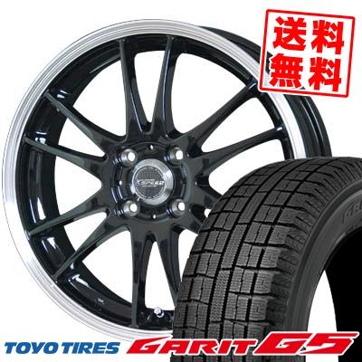 155/65R14 TOYO TIRES トーヨータイヤ GARIT G5 ガリット G5 CROSS SPEED PREMIUM 6 Light クロススピード プレミアム 6 ライト スタッドレスタイヤホイール4本セット