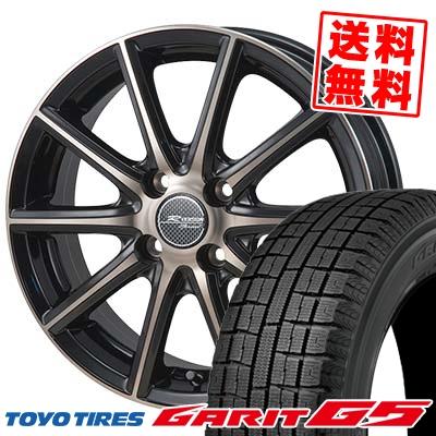 185/70R14 TOYO TIRES トーヨータイヤ GARIT G5 ガリット G5 MONZA R VERSION Sprint モンツァ Rヴァージョン スプリント スタッドレスタイヤホイール4本セット
