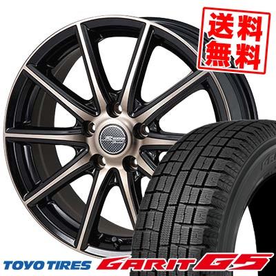 195/65R15 TOYO TIRES トーヨータイヤ GARIT G5 ガリット G5 MONZA R VERSION Sprint モンツァ Rヴァージョン スプリント スタッドレスタイヤホイール4本セット
