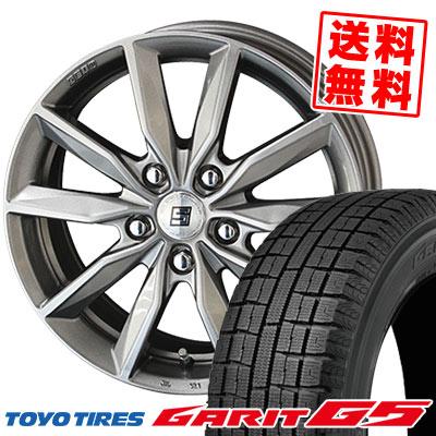 195/65R15 91Q TOYO TIRES トーヨータイヤ GARIT G5 ガリット G5 SEIN SV ザイン エスブイ スタッドレスタイヤホイール4本セット【取付対象】