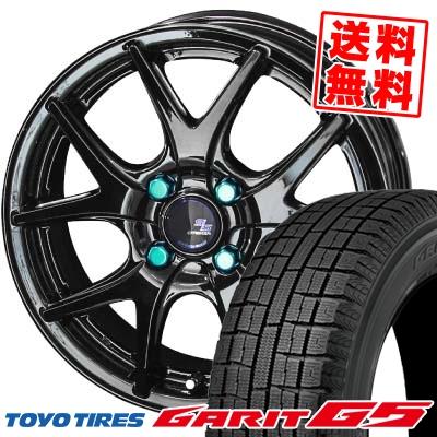 185/65R15 TOYO TIRES トーヨータイヤ GARIT G5 ガリット G5 STEINER S-LINE SL5 シュタイナー エスライン SL5 スタッドレスタイヤホイール4本セット