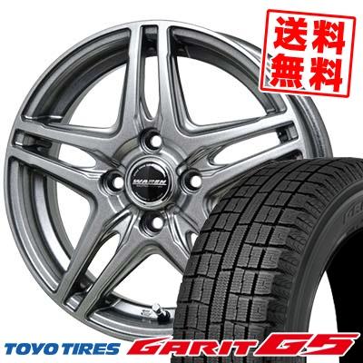 185/70R14 88Q TOYO TIRES トーヨータイヤ GARIT G5 ガリット G5 WAREN W04 ヴァーレン W04 スタッドレスタイヤホイール4本セット