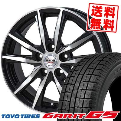 205/60R16 TOYO TIRES トーヨータイヤ GARIT G5 ガリット G5 JP STYLE WOLX JPスタイル ヴォルクス スタッドレスタイヤホイール4本セット