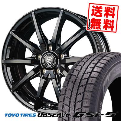 235/70R16 106Q TOYO TIRES トーヨータイヤ OBSERVE GSi-5 オブザーブ GSi5 TRG-GB10 TRG GB10 スタッドレスタイヤホイール4本セット