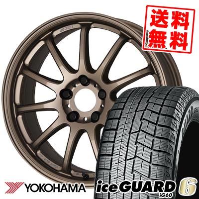 245/40R18 93Q YOKOHAMA ヨコハマ IG60 IG60 WORK EMOTION 11R ワーク エモーション 11R スタッドレスタイヤホイール4本セット