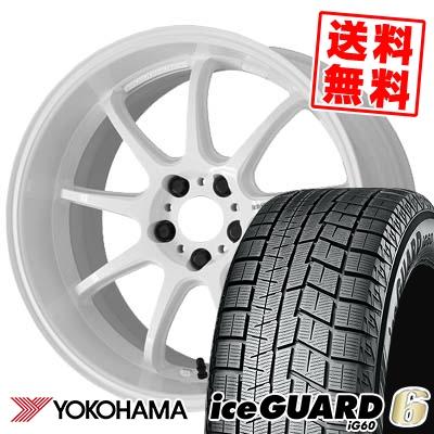245/40R18 93Q YOKOHAMA ヨコハマ IG60 IG60 WORK EMOTION D9R ワーク エモーション D9R スタッドレスタイヤホイール4本セット