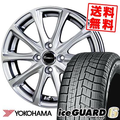 185/60R15 84Q YOKOHAMA ヨコハマ IG60 IG60 Exceeder E04 エクシーダー E04 スタッドレスタイヤホイール4本セット