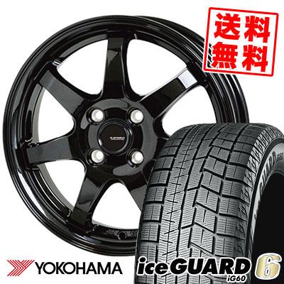 185/60R15 84Q YOKOHAMA ヨコハマ IG60 IG60 G.speed G-03 Gスピード G-03 スタッドレスタイヤホイール4本セット