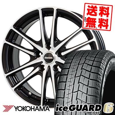 195/70R15 92Q YOKOHAMA ヨコハマ IG60 IG60 Laffite LW-03 ラフィット LW-03 スタッドレスタイヤホイール4本セット