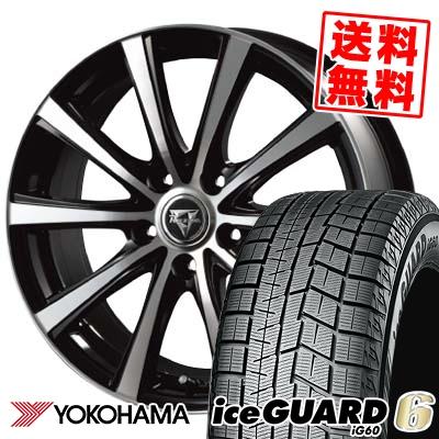 205/65R15 94Q YOKOHAMA ヨコハマ IG60 IG60 Razee XV レイジー XV スタッドレスタイヤホイール4本セット