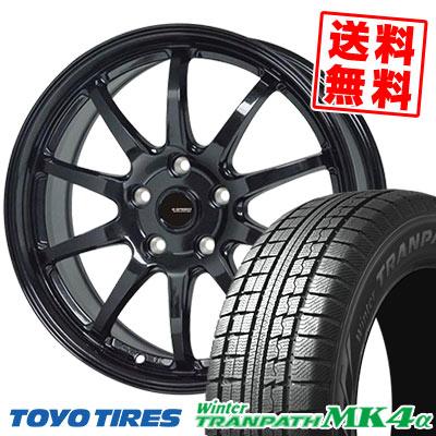 215/65R15 96Q TOYO TIRES トーヨータイヤ Winter TRANPATH MK4α ウインター トランパス MK4α G.speed G-04 Gスピード G-04 スタッドレスタイヤホイール4本セット