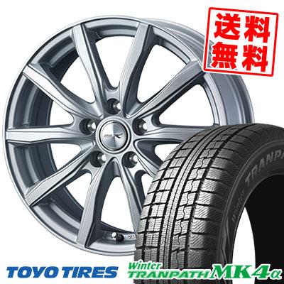 215/65R15 96Q TOYO TIRES トーヨータイヤ Winter TRANPATH MK4α ウインター トランパス MK4α JOKER SHAKE ジョーカー シェイク スタッドレスタイヤホイール4本セット