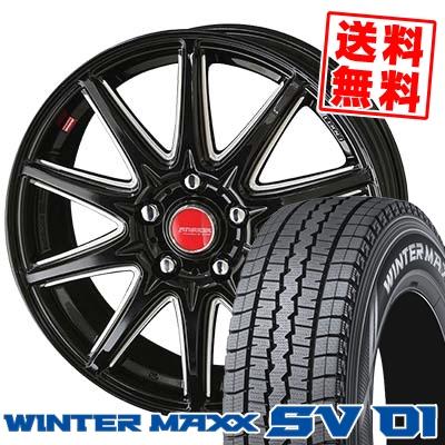 215/70R15 DUNLOP ダンロップ WINTER MAXX SV01 ウインターマックス SV01 RIVAZZA CORSE リヴァッツァ コルセ スタッドレスタイヤホイール4本セット