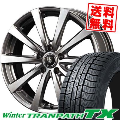 205/55R16 91Q TOYO TIRES トーヨー タイヤ Winter TRANPATH TX ウィンタートランパス TX Euro Speed G10 ユーロスピード G10 スタッドレスタイヤホイール4本セット