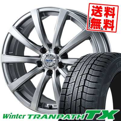 215/65R15 96Q TOYO TIRES トーヨー タイヤ Winter TRANPATH TX ウィンタートランパス TX ZACK JP-110 ザック JP110 スタッドレスタイヤホイール4本セット