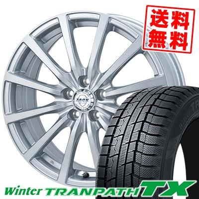 215/60R16 95Q TOYO TIRES トーヨー タイヤ Winter TRANPATH TX ウィンタートランパス TX ZACK JP-112 ザック JP112 スタッドレスタイヤホイール4本セット