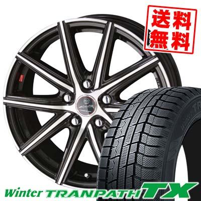 215/60R16 95Q TOYO TIRES トーヨー タイヤ Winter TRANPATH TX ウィンタートランパス TX SMACK PRIME SERIES VANISH スマック プライムシリーズ ヴァニッシュ スタッドレスタイヤホイール4本セット