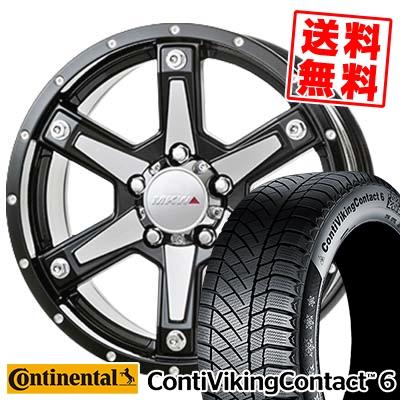 215/60R16 CONTINENTAL コンチネンタル ContiVikingContact6 コンチバイキングコンタクト6 MKW MK-56 MKW MK-56 スタッドレスタイヤホイール4本セット【取付対象】