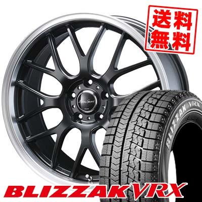 225/55R17 BRIDGESTONE ブリヂストン BLIZZAK VRX ブリザック VRX Eoro Sport Type 805 ユーロスポーツ タイプ805 スタッドレスタイヤホイール4本セット