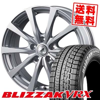 205/65R16 95Q BRIDGESTONE ブリヂストン BLIZZAK VRX ブリザック VRX AZ SPORTS EX10 AZスポーツ EX10 スタッドレスタイヤホイール4本セット