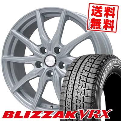 195/65R15 BRIDGESTONE ブリヂストン BLIZZAK VRX ブリザック VRX B-WIN KRX B-WIN KRX スタッドレスタイヤホイール4本セット