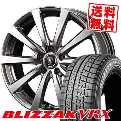 205/65R16 BRIDGESTONE ブリヂストン BLIZZAK VRX ブリザック VRX Euro Speed G10 ユーロスピード G10 スタッドレスタイヤホイール4本セット