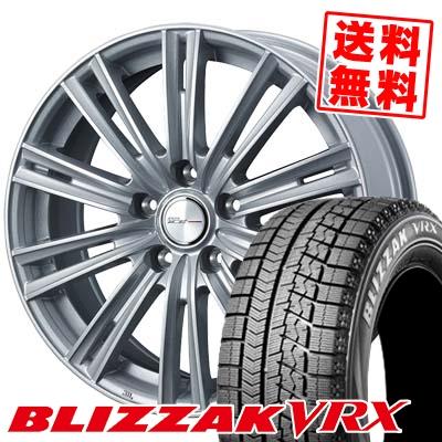 205/65R16 95Q BRIDGESTONE ブリヂストン BLIZZAK VRX ブリザック VRX WEDS JOKER ICE ウェッズ ジョーカー アイス スタッドレスタイヤホイール4本セット