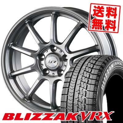195/60R16 BRIDGESTONE ブリヂストン BLIZZAK VRX ブリザック VRX LCZ010 LCZ010 スタッドレスタイヤホイール4本セット