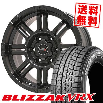 215/65R16 98Q BRIDGESTONE ブリヂストン BLIZZAK VRX ブリザック VRX B-MUD X Bマッド エックス スタッドレスタイヤホイール4本セット for 200系ハイエース