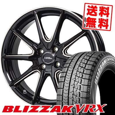 165/60R15 BRIDGESTONE ブリヂストン BLIZZAK VRX ブリザック VRX CROSS SPEED PREMIUM RS10 クロススピード プレミアム RS10 スタッドレスタイヤホイール4本セット