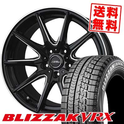 225/45R18 BRIDGESTONE ブリヂストン BLIZZAK VRX ブリザック VRX CROSS SPEED PREMIUM RS10 クロススピード プレミアム RS10 スタッドレスタイヤホイール4本セット