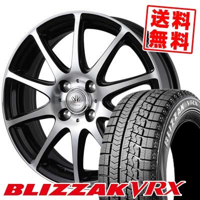 175/60R14 BRIDGESTONE ブリヂストン BLIZZAK VRX ブリザック VRX BADX LOXARNY SPORT RS-10 バドックス ロクサーニ スポーツ RS-10 スタッドレスタイヤホイール4本セット