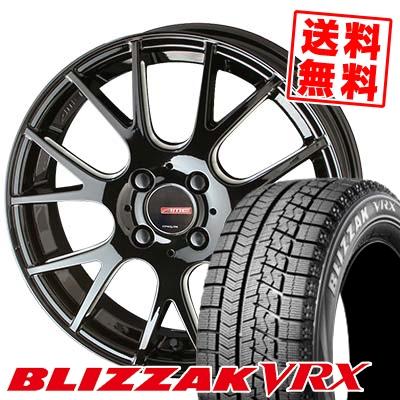 165/60R15 BRIDGESTONE ブリヂストン BLIZZAK VRX ブリザック VRX CIRCLAR RM-7 サーキュラー RM-7 スタッドレスタイヤホイール4本セット