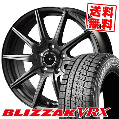 195/60R16 89Q BRIDGESTONE ブリヂストン BLIZZAK VRX ブリザック VRX V-EMOTION GS10 Vエモーション GS10 スタッドレスタイヤホイール4本セット