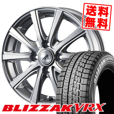 175/70R14 BRIDGESTONE ブリヂストン BLIZZAK VRX ブリザック VRX AZ sports YL-10 AZスポーツ YL-10 スタッドレスタイヤホイール4本セット