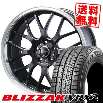 235/50R17 BRIDGESTONE ブリヂストン BLIZZAK VRX2 ブリザック VRX2 Eoro Sport Type 805 ユーロスポーツ タイプ805 スタッドレスタイヤホイール4本セット