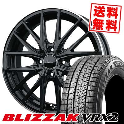 215/60R17 BRIDGESTONE ブリヂストン BLIZZAK VRX2 ブリザック VRX2 Precious AST M1 プレシャス アスト M1 スタッドレスタイヤホイール4本セット