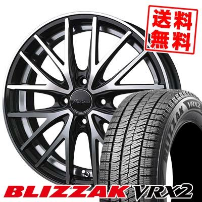 155/55R14 BRIDGESTONE ブリヂストン BLIZZAK VRX2 ブリザック VRX2 Precious AST M1 プレシャス アスト M1 スタッドレスタイヤホイール4本セット