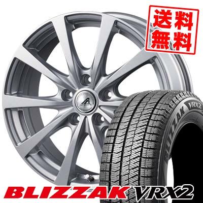 235/50R17 96Q BRIDGESTONE ブリヂストン BLIZZAK VRX2 ブリザック VRX2 AZ SPORTS EX10 AZスポーツ EX10 スタッドレスタイヤホイール4本セット
