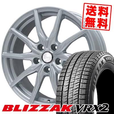 205/70R15 BRIDGESTONE ブリヂストン BLIZZAK VRX2 ブリザック VRX2 B-WIN KRX B-WIN KRX スタッドレスタイヤホイール4本セット