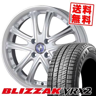 165/50R16 BRIDGESTONE ブリヂストン BLIZZAK VRX2 ブリザック VRX2 Warwic DS.05 ワーウィック DS.05 スタッドレスタイヤホイール4本セット