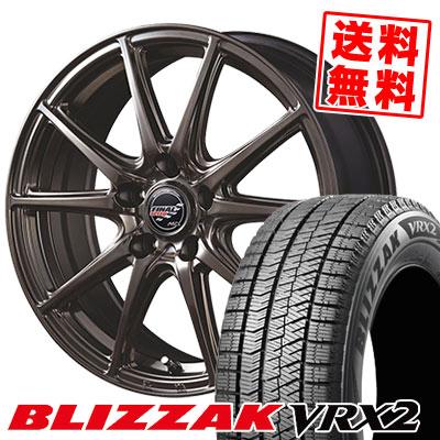 205/60R15 91Q BRIDGESTONE ブリヂストン BLIZZAK VRX2 ブリザック VRX2 FINALSPEED GR-Volt ファイナルスピード GRボルト スタッドレスタイヤホイール4本セット