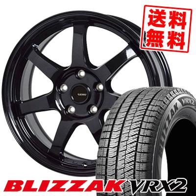 215/60R16 95Q BRIDGESTONE ブリヂストン BLIZZAK VRX2 ブリザック VRX2 G.speed G-03 Gスピード G-03 スタッドレスタイヤホイール4本セット