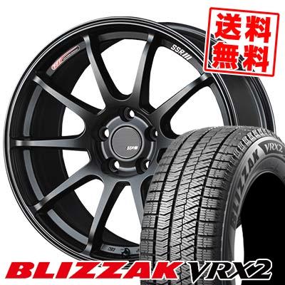215/45R18 89Q BRIDGESTONE ブリヂストン BLIZZAK VRX2 ブリザック VRX2 SSR GTV02 SSR GTV02 スタッドレスタイヤホイール4本セット【取付対象】